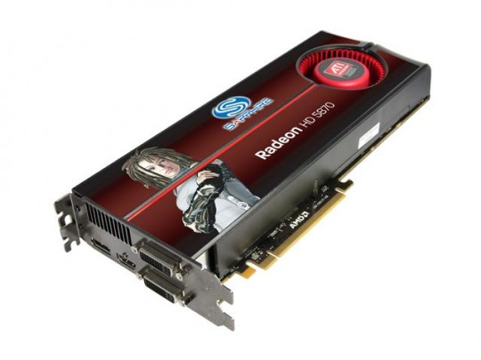 Sapphire Radeon HD5870 Directx 11 Video Card