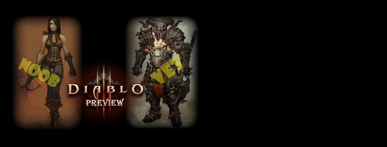 Diablo 3 Preview Noob vs. Vet